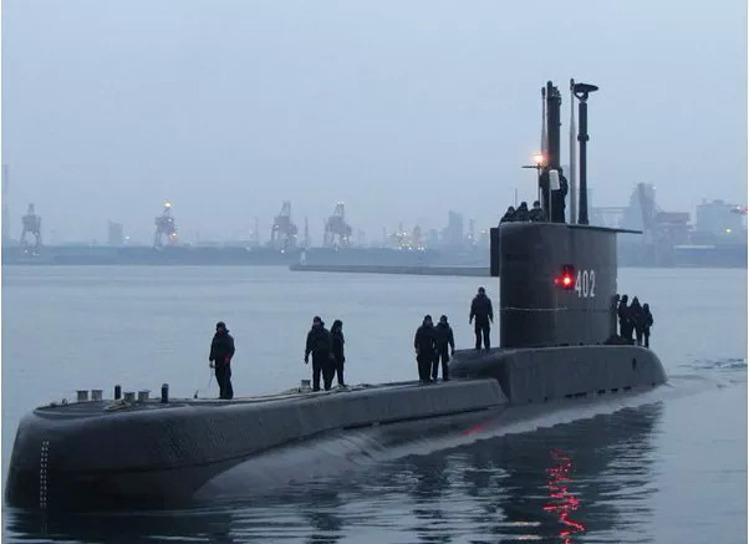 Tàu ngầm KRI Nanggala-402 của Indonesia. Ảnh: Wiki.