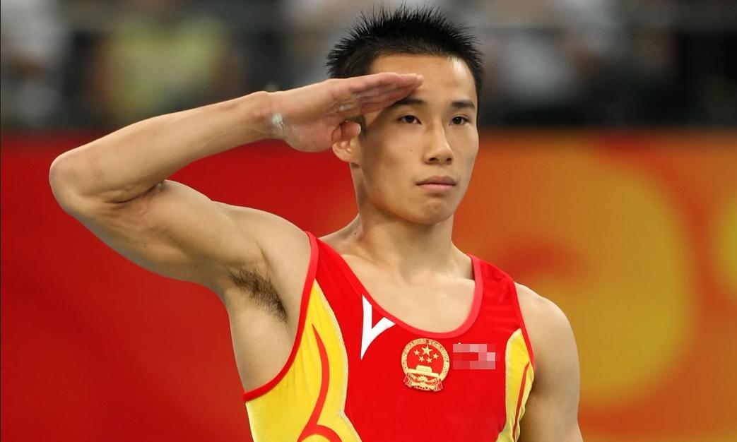Tiêu Khâm, vận động viên thể dục dụng cụ từng giành huy chương vàng Olympic. Ảnh: Getty.