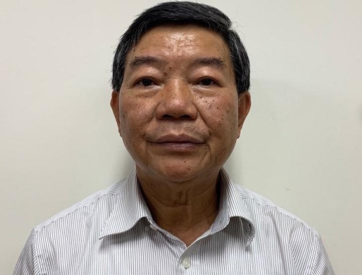 Ông Nguyễn Quốc Anh khi bị bắt hồi tháng 9/2020. Ảnh:Bộ Công an