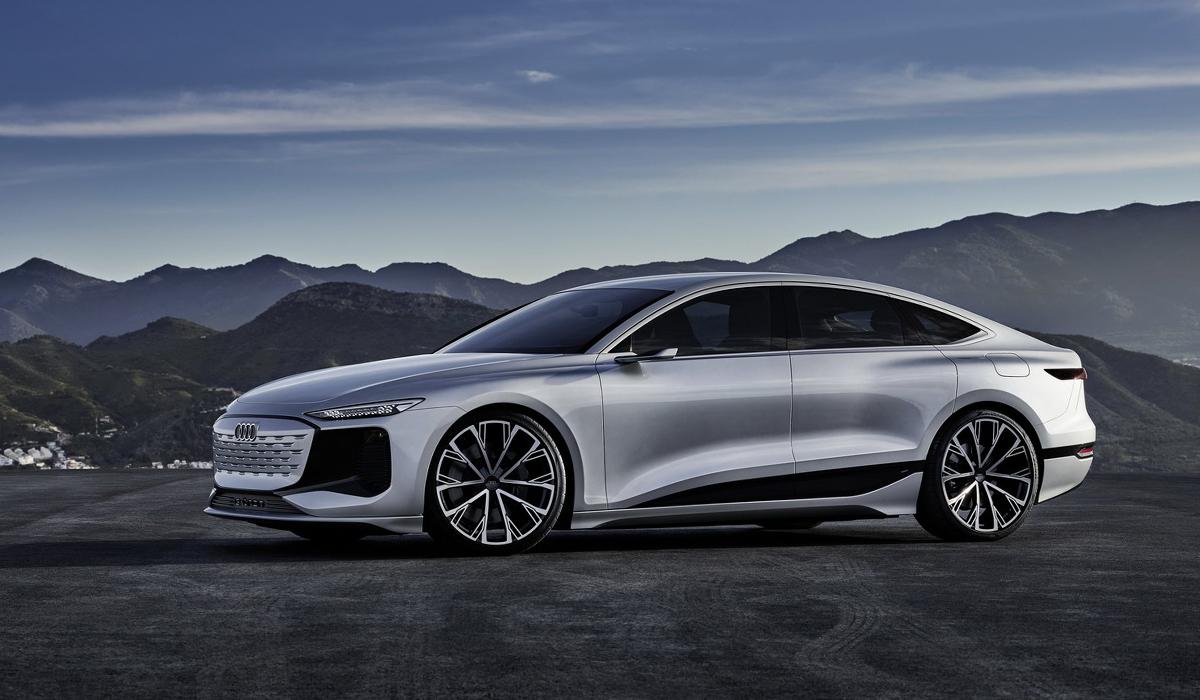 A6 e-tron Concept - bản chạy điện của Audi A6. Ảnh: Audi