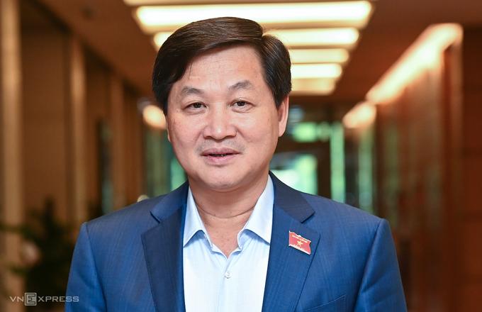 Phó thủ tướng Lê Minh Khái. Ảnh: Giang Huy