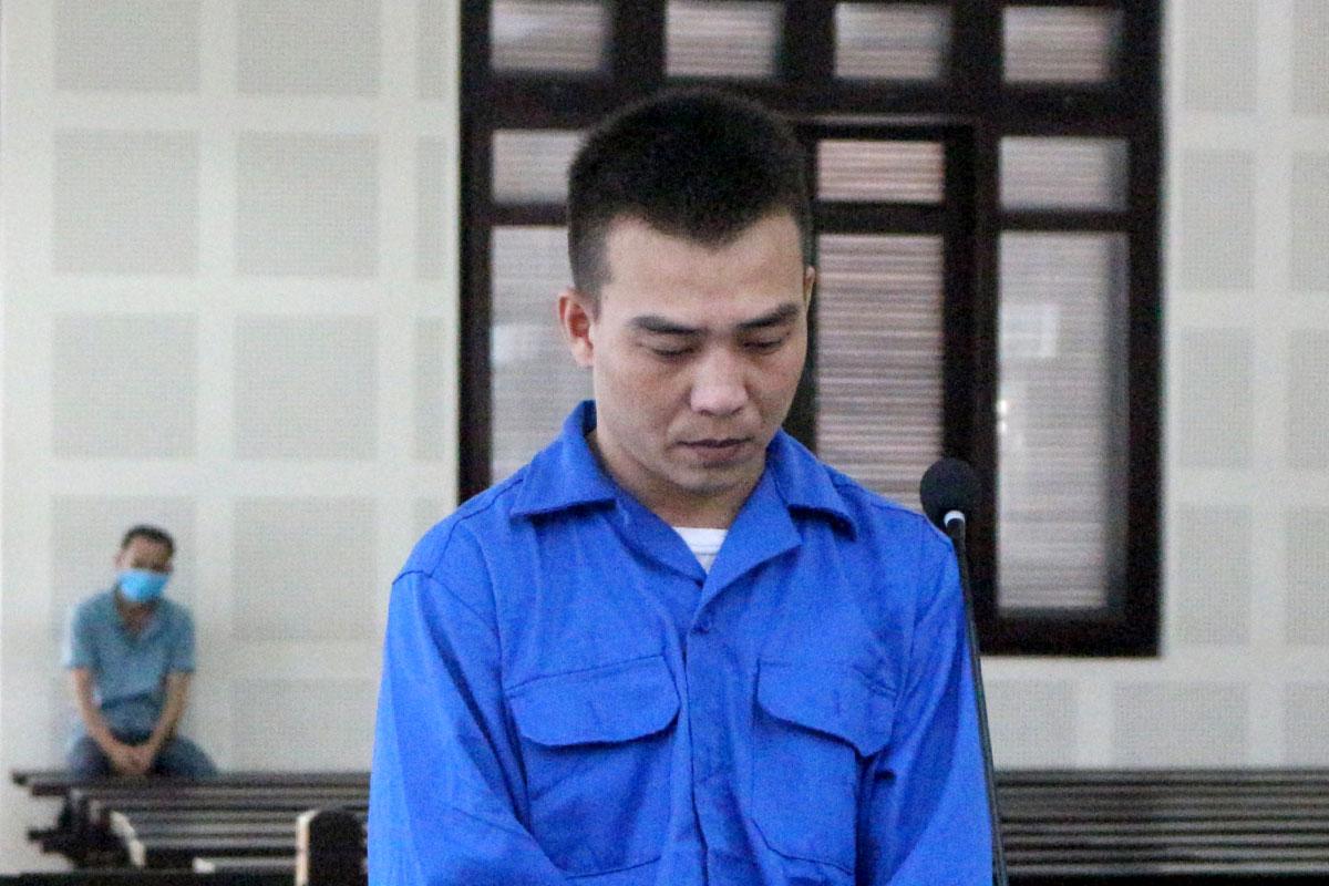 Bị cáo Nguyễn Thanh Luận tại toà. Ảnh: Ngọc Trường.