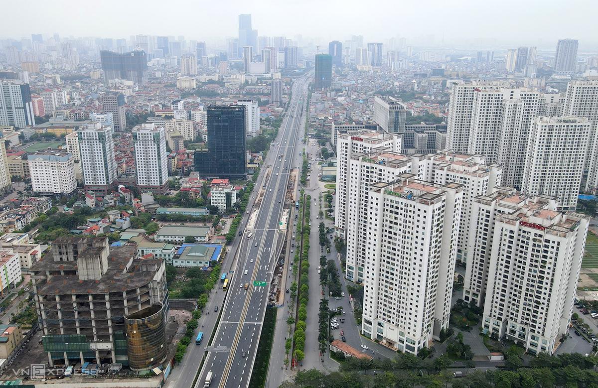 Đóng cầu cạn Mai Dịch-cầu Thăng Long trong 3 ngày - 2