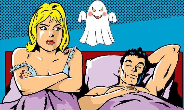 Vợ trẻ sợ ma đêm động phòng