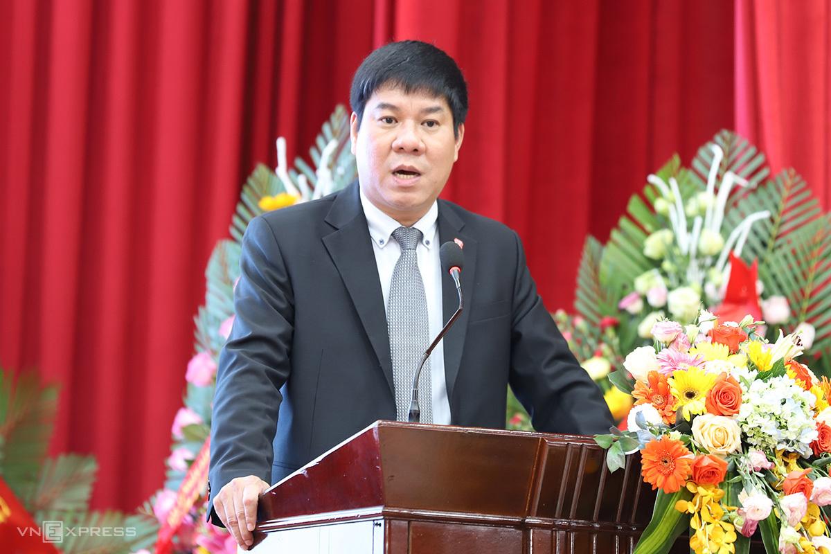 PGS.TS Huỳnh Văn Chương, Chủ tịch Hội đồng mới của Đại học Huế. Ảnh; Võ Thạnh