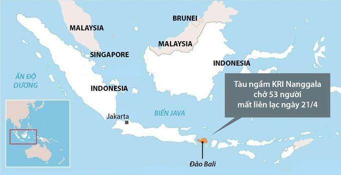 Tàu ngầm Indonesia có nguy cơ không thể cứu - 2