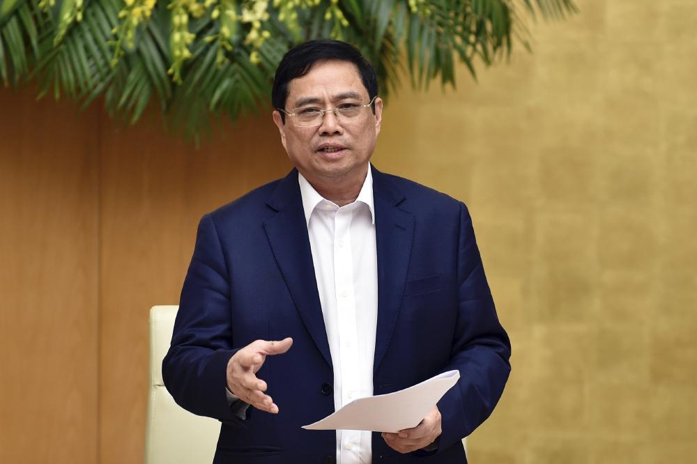 Thủ tướng Phạm Minh Chính. Ảnh: VGP