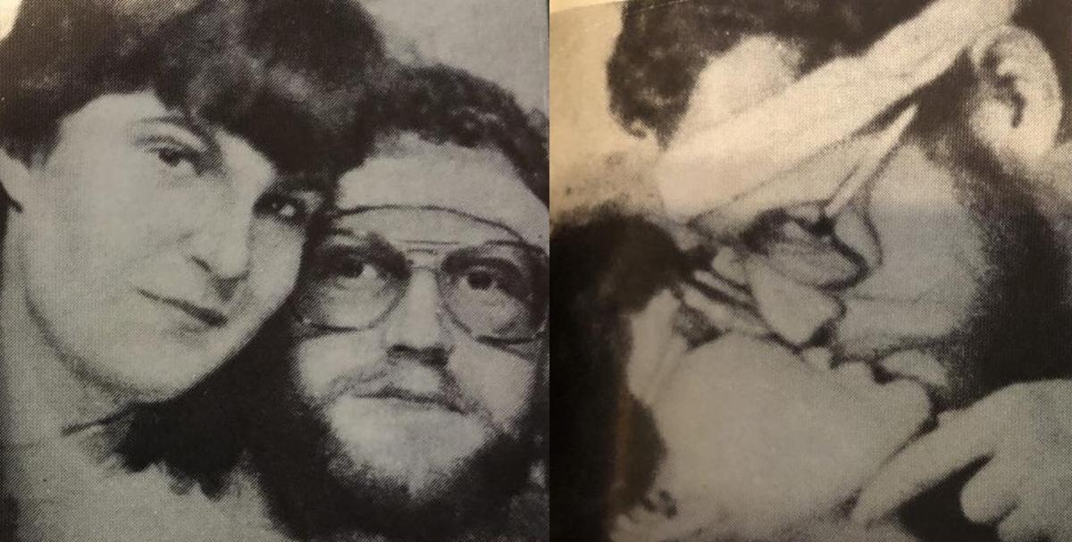 Hai bức ảnh Wayne Nance chụp cùng Marci Bachman. Ảnh: Open Road Media.