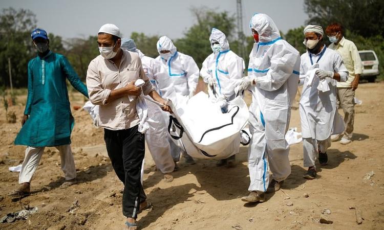 Số ca nhiễm Covid-19 ở Ấn Độ đang tăng nhanh - Vtradetop.com