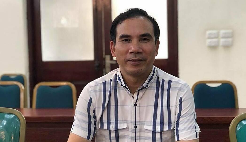Ông Nguyễn Văn Bảy chia sẻ thông tin chiều 23/4. Ảnh: BN.