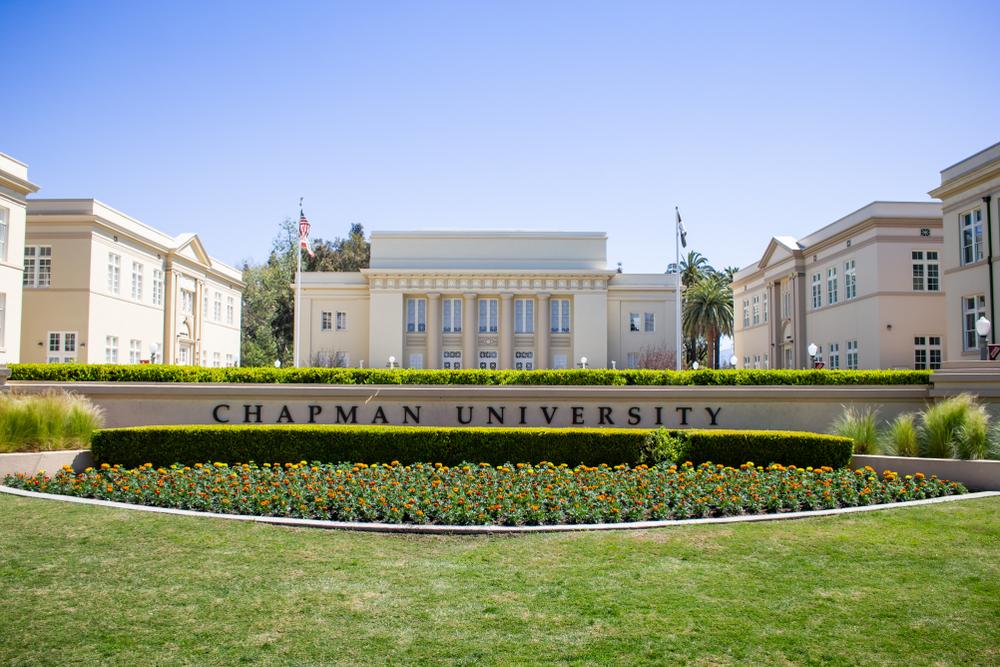 Đại học Chapman, Mỹ, nơi có tỷ lệ chấp nhận ứng viên trong danh sách chờ chỉ 1,5%. Ảnh: Shutterstock