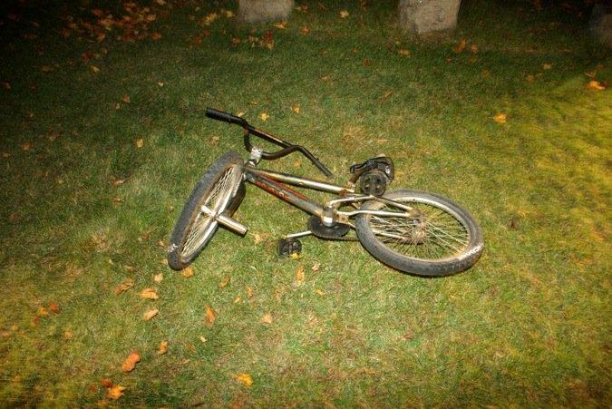 Xe đạp của Jodi Parrack tại nghĩa trang. Ảnh: MLive.
