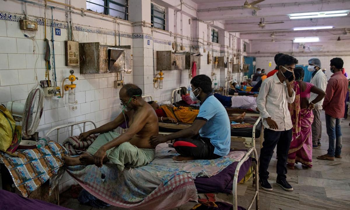 Phòng cấp cứu tại một một bệnh viện ở bang Bihar, Ấn Độ tháng 8/2020. Ảnh: Reuters.