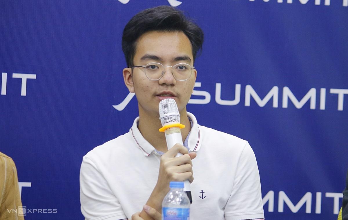 Nguyễn Trần Đức Anh, trúng tuyển Đại học Rice, Mỹ. Ảnh: Thanh Hằng