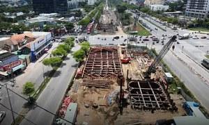 Hầm chui cửa ngõ Nam Sài Gòn sau một năm thi công