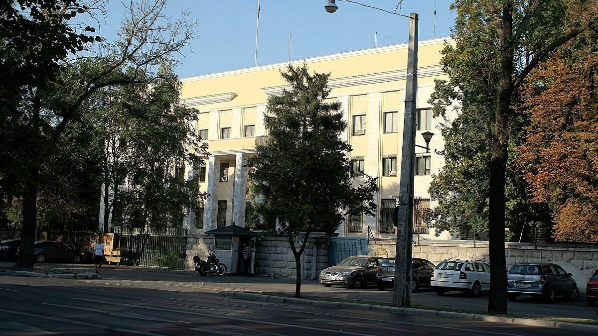 Đại sứ quán Nga tại Bucharest. Ảnh: Sputnik.