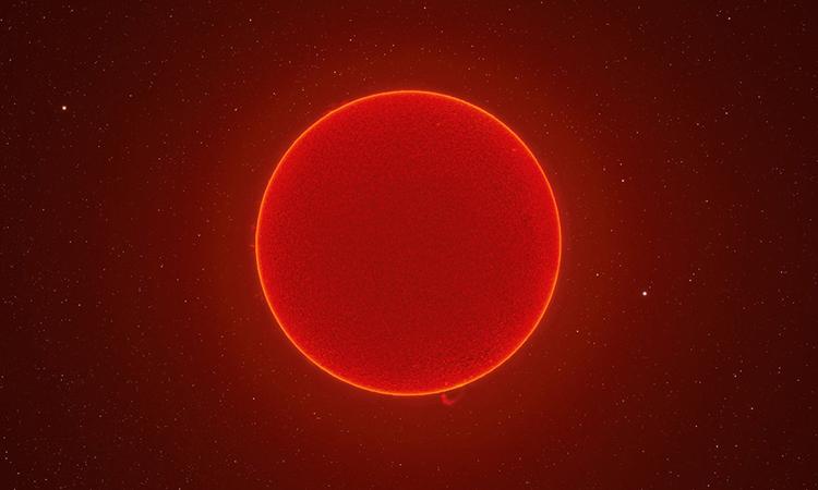 Hình ảnh độ phân giải 230 megapixel về Mặt Trời. Ảnh: Andrew McCarthy.