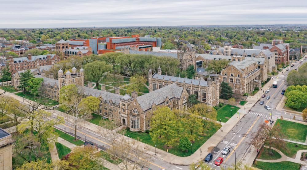Đại học Michigan ở Ann Arbo, Mỹ, nơi có tỷ lệ chấp nhận thí sinh từ danh sách chờ chỉ 1,8% vào mùa thu năm 2019. Ảnh: Shutterstock