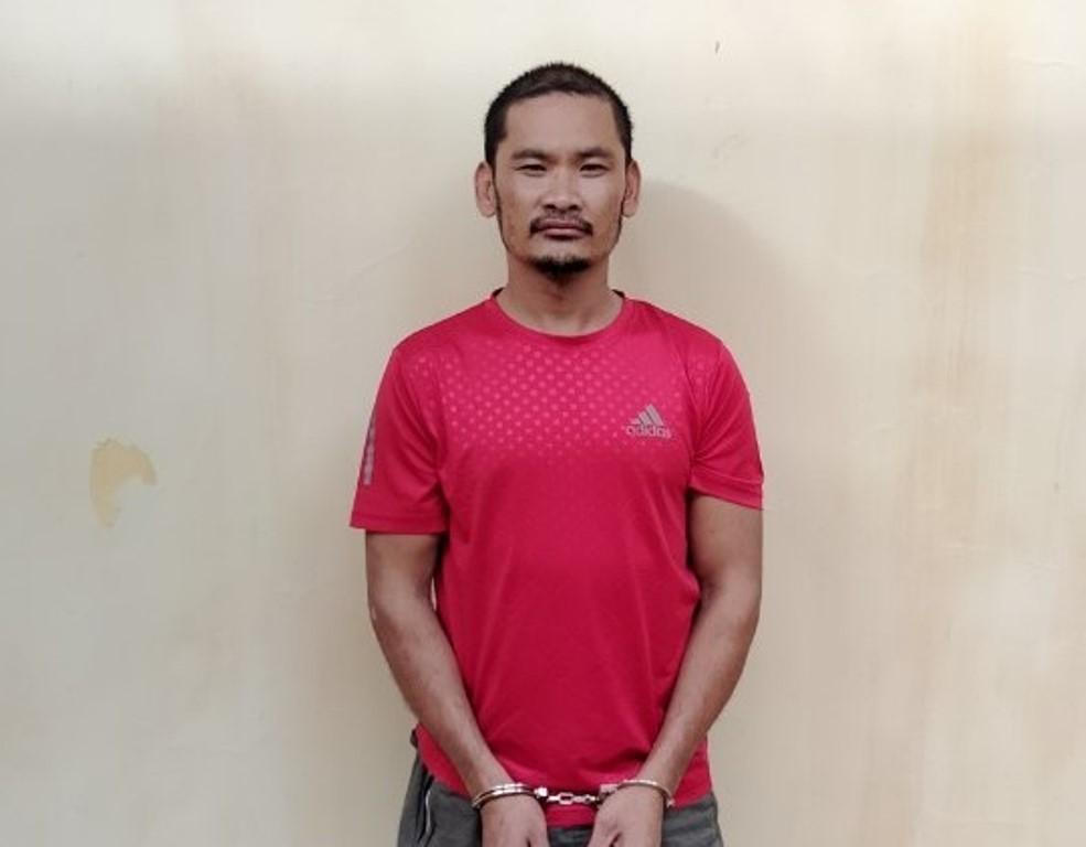 Nguyễn Văn Vy tại cơ quan điều tra. Ảnh: Nguyễn Khánh