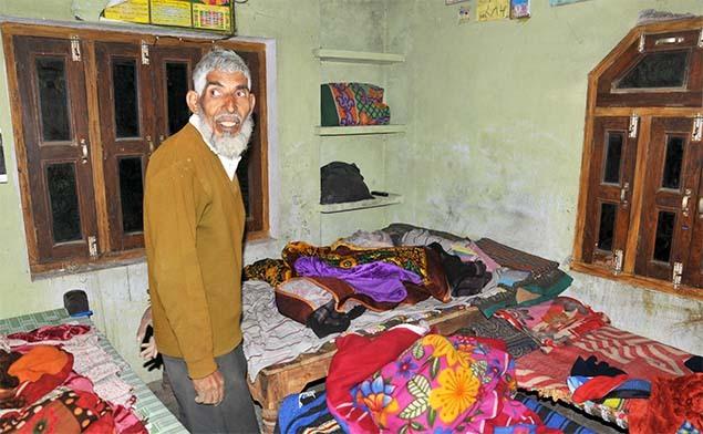 Ga trải giường và chăn mền không bị xô lệch. Ảnh: Times of India.