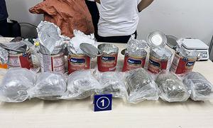 36 kg ma túy giấu trong quà biếu gửi về Sài Gòn