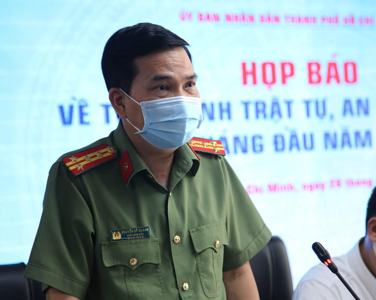 Đại tá Nguyễn Sỹ Quang. Ảnh: Quốc Thắng.