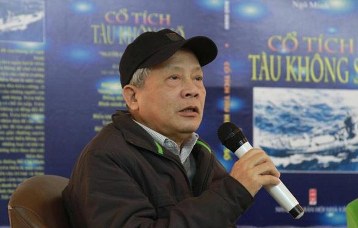 Nhà thơ Nguyễn Khoa Điềm. Ảnh: Thượng Hiền.