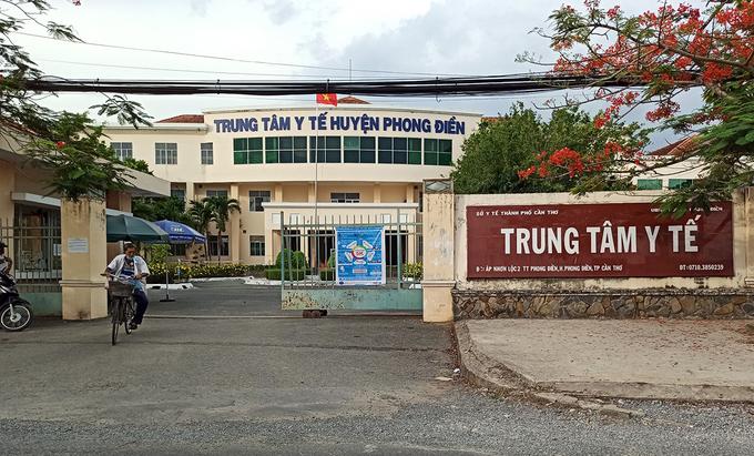 Trung tâm Y tế huyện Phong Điền (TP Cần Thơ) được chọn lập Bệnh viện dã chiến tuyến Trung ương điều trị bệnh nhân Covid-19. Ảnh: Cửu Long