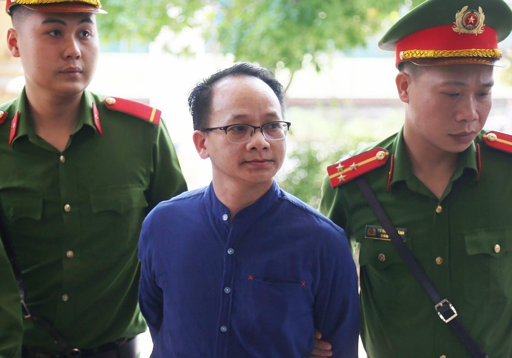 Bị cáo Nguyễn Thanh Chương. Ảnh: Phạm Dự