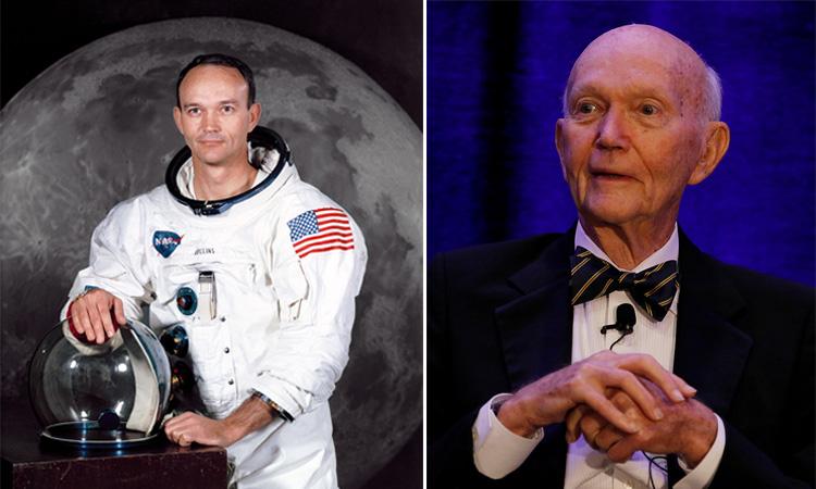 Phi hành gia Michael Collins lúc sinh thời. Ảnh: Reuters.