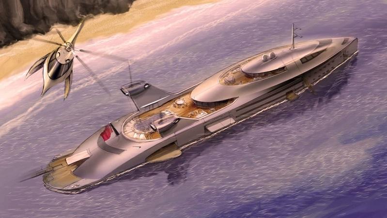 Thiết kế của mẫu du thuyền Cobra. Ảnh: Pavasovic Studio.