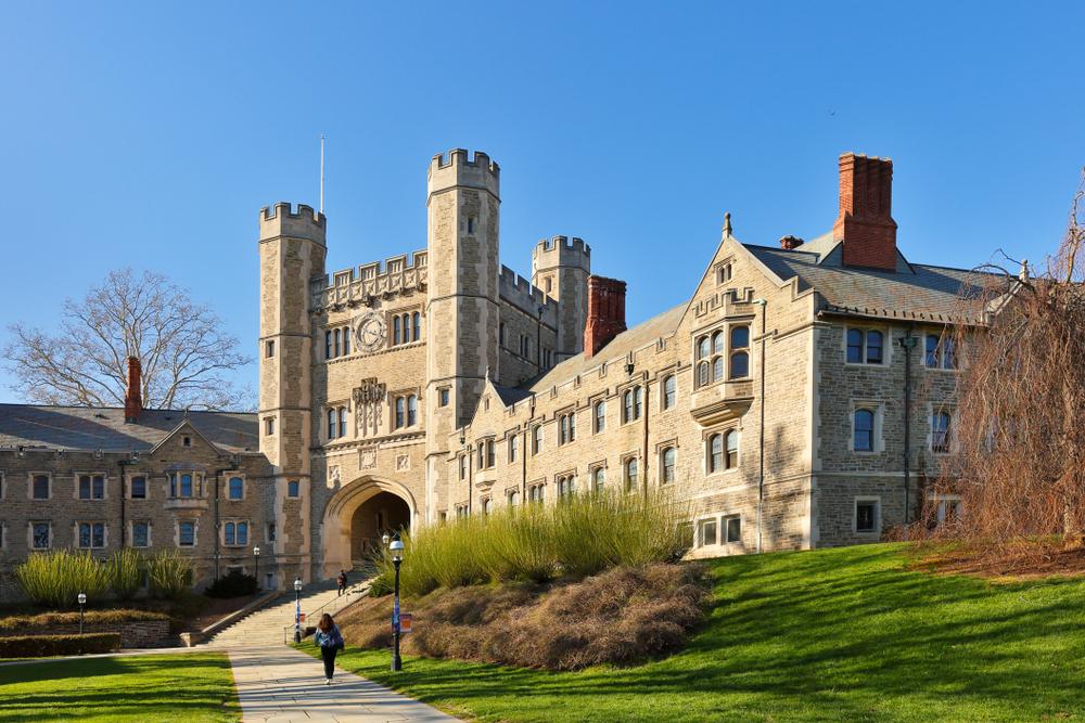 Đại học Princeton, Mỹ, nơi yêu cầu điểm ACT trung bình 34. Ảnh: Shutterstock