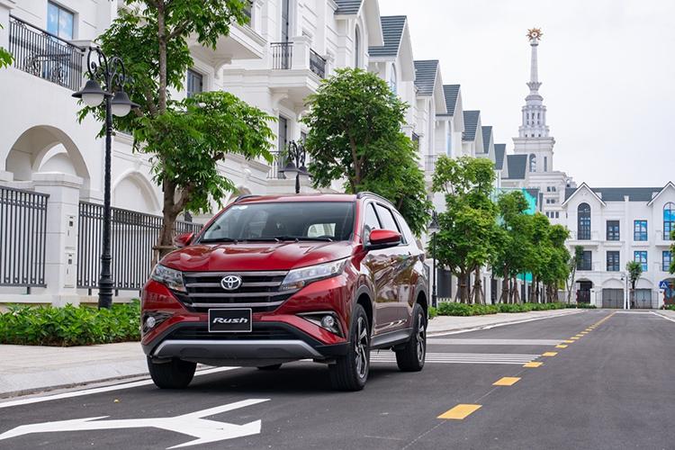 Mẫu Toyota Rush trong diện triệu hồi. Ảnh: Toyota