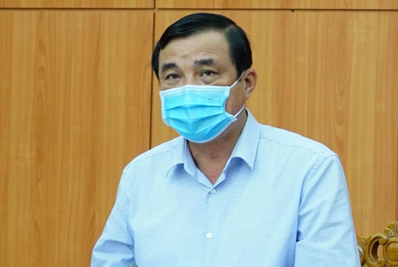 Ông Phan Việt Cường, Bí thư Tỉnh ủy Quảng Nam. Ảnh: Đắc Thành