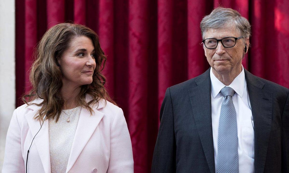 Bill và Melinda Gates tại