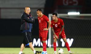 Tuyển Việt Nam đổi địa điểm tập huấn