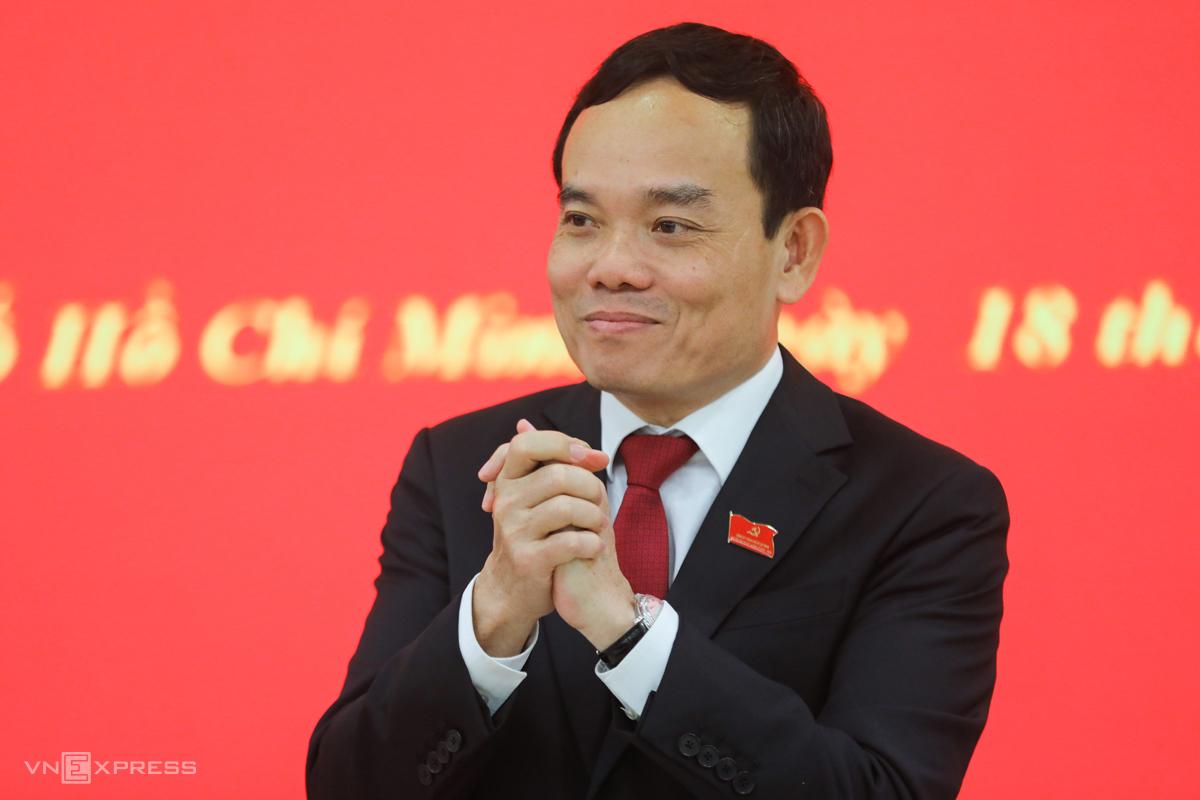 Ông Trần Lưu Quang, tân Bí thư Thành ủy Hải Phòng. Ảnh: Như Quỳnh