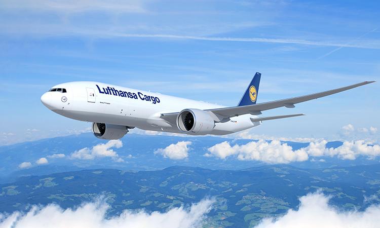 Máy bay chở hàng Boeing 777 của Lufthansa Cargo. Ảnh: Lufthansa.