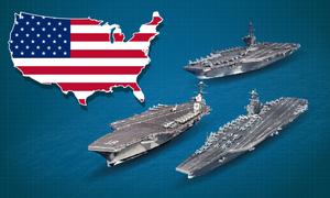 Hạm đội tàu sân bay lớn nhất thế giới của Mỹ