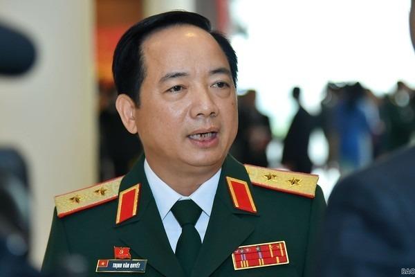 Trung tướng Trịnh Văn Quyết. Ảnh: Báo Quốc tế