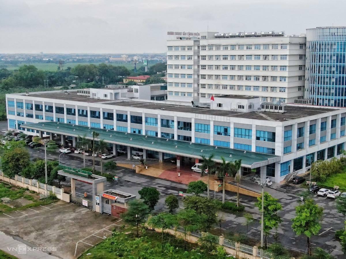Bệnh viện bệnh Nhiệt đới Trung ương. Ảnhh: Giang Huy