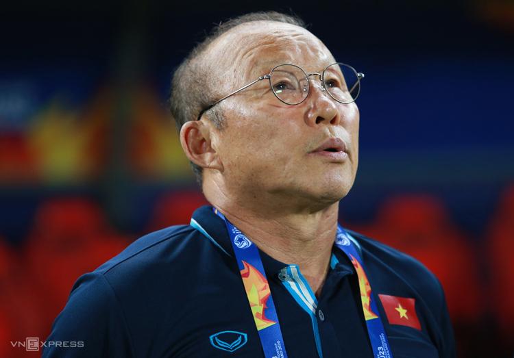 Pelatih Park kemungkinan masih menggunakan pemain yang akrab dengannya selama dua tahun terakhir untuk sisa pertandingan kualifikasi Piala Dunia 2022. Foto: Lam Tho.