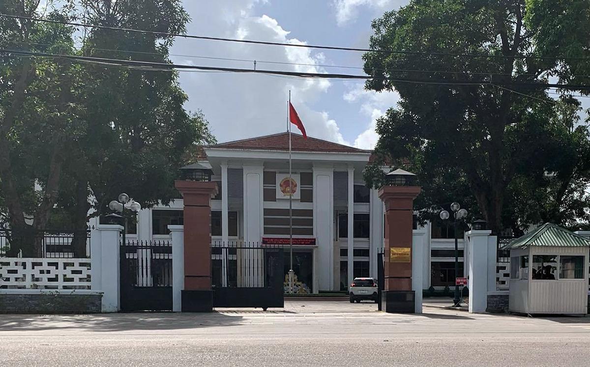 Trụ sở UBND tỉnh Quảng Ngãi. Ảnh: Phạm Linh.