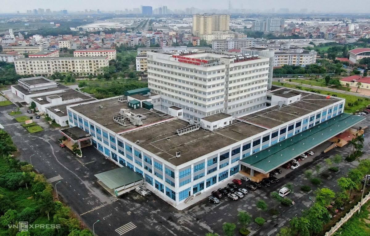 Bệnh viện Bệnh Nhiệt đới Trung ương. Ảnh: Giang Huy