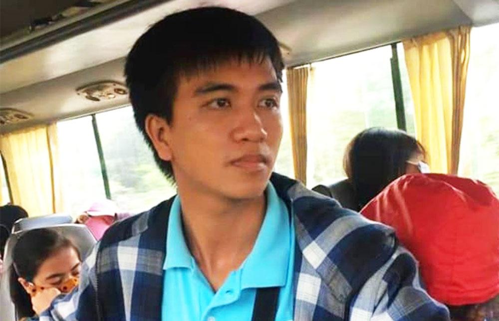 Nguyễn Văn Nhã trong một chuyến đi thiện nguyện.