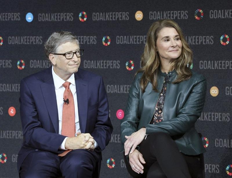 Bill Gates và vợ Melinda Gates dự một sự kiện ở New York, Mỹ năm 2018. Ảnh: AFP.