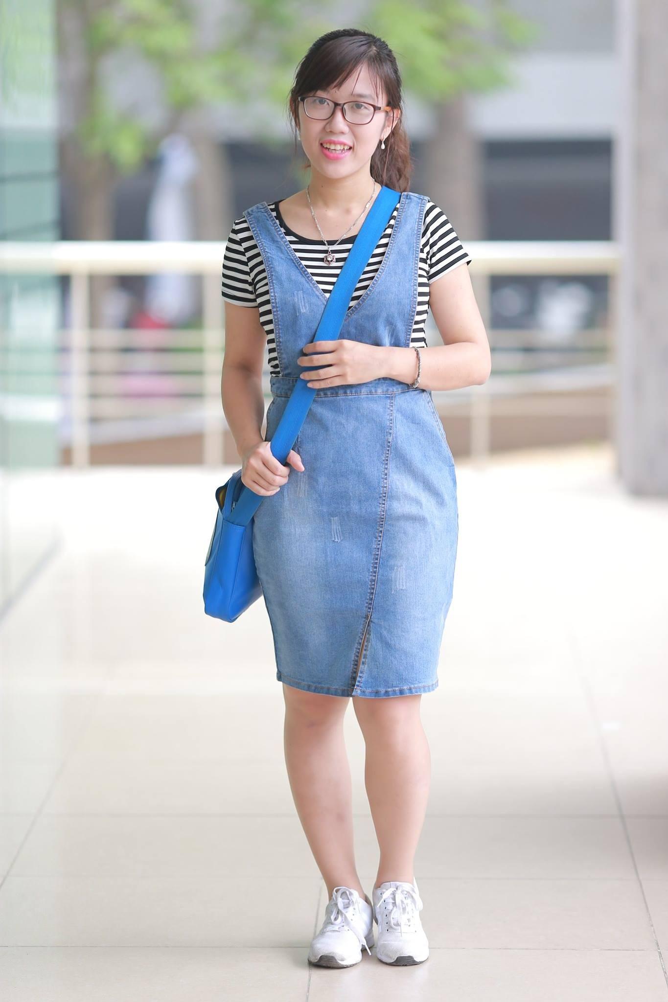 Nguyễn Thị Ngọc Liên hiện là giáo viên IELTS. Ảnh: NVCC.