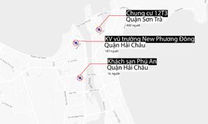 Đà Nẵng phong tỏa ba khu vực vì ca nhiễm Covid-19