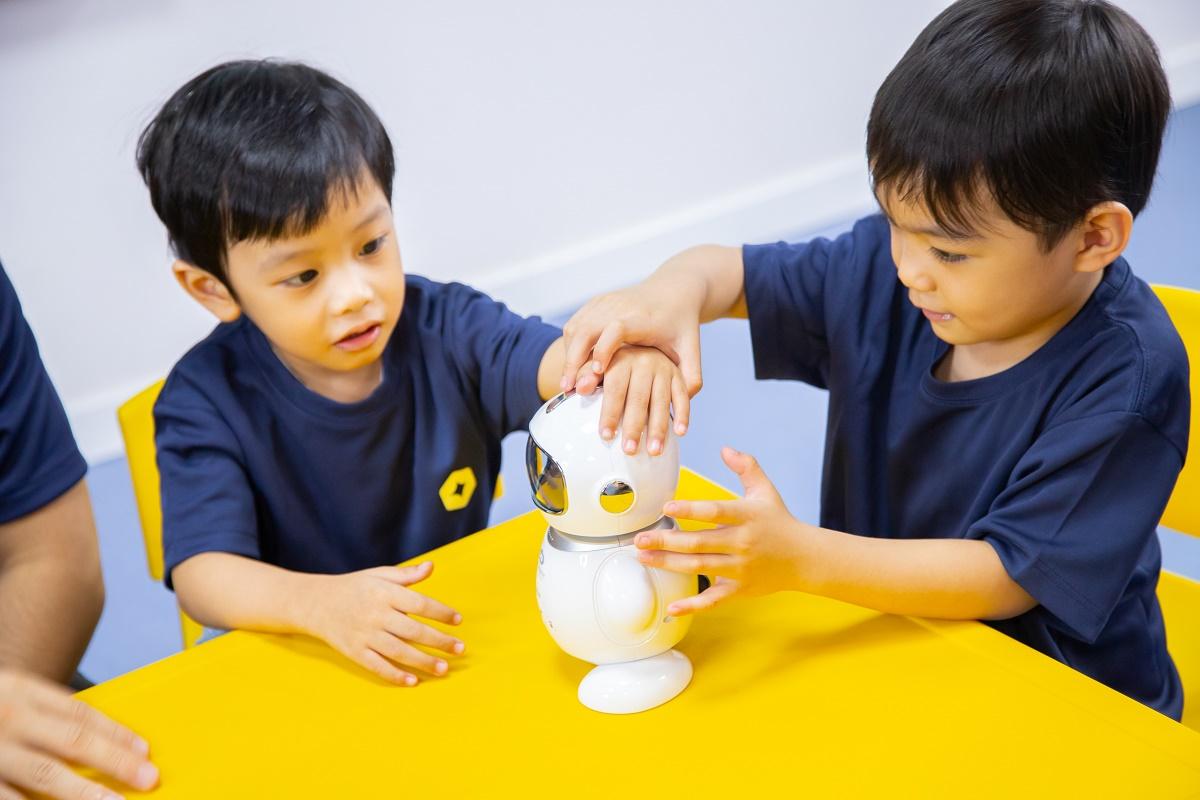 Chương trình học tiếng Anh giúp trẻ không nhàm chán, áp lực.