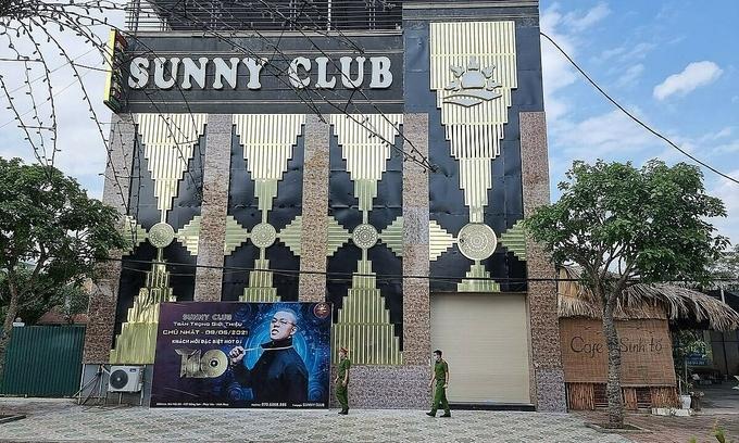 Quán bar Sunny, TP Phúc Yên. Ảnh: CTV